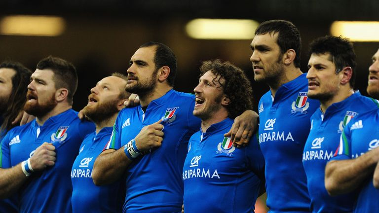 Italy will field a much-changed side to the one that lost to Wales