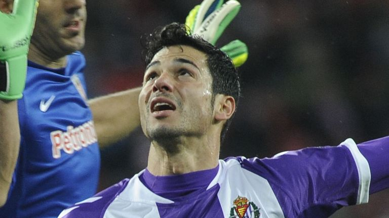 Javi Guerra: Striker has spent four years with Real Vallodolid