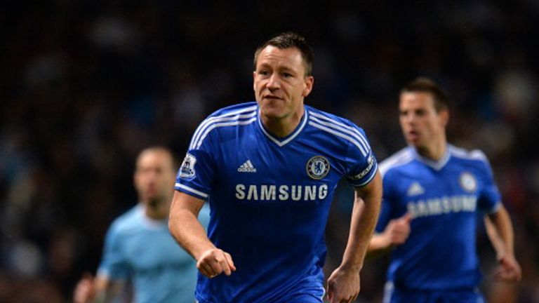 John Terry: Captained Chelsea to victory