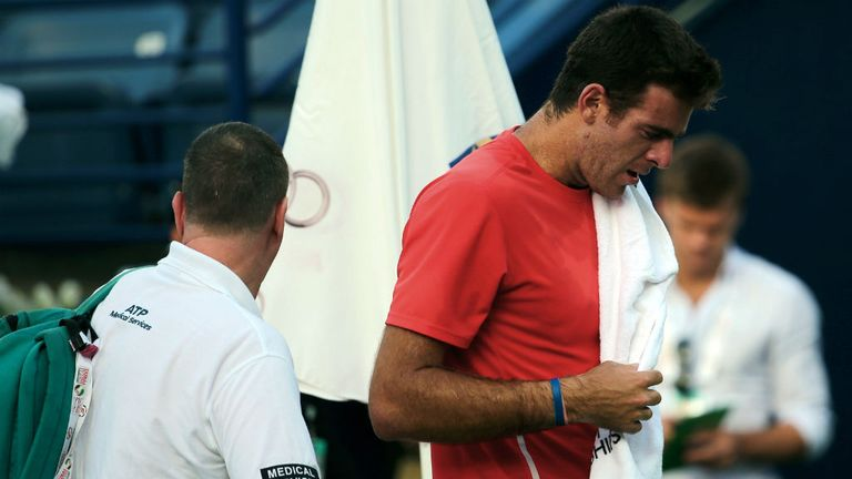 Juan Martin Del Potro: The Argentine may have to quit tennis over injury