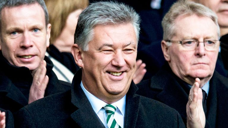 Peter Lawwell: Celtic chief executive is now part of the European Club Association