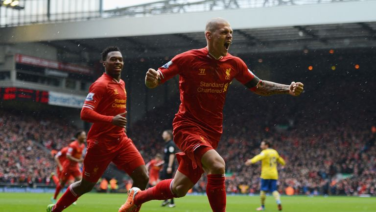 Martin Skrtel: Hailed by Brendan Rodgers