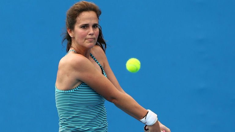 Mary Joe Fernandez: Will lead out her USA team against France in April