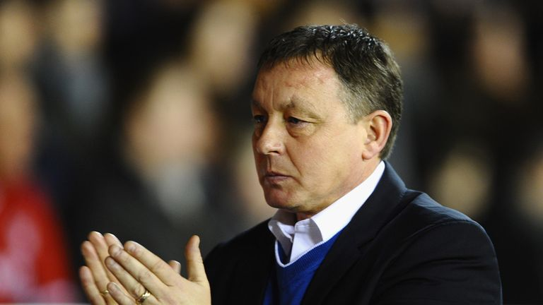 Billy Davies: Sent to the stands during draw with Leicester