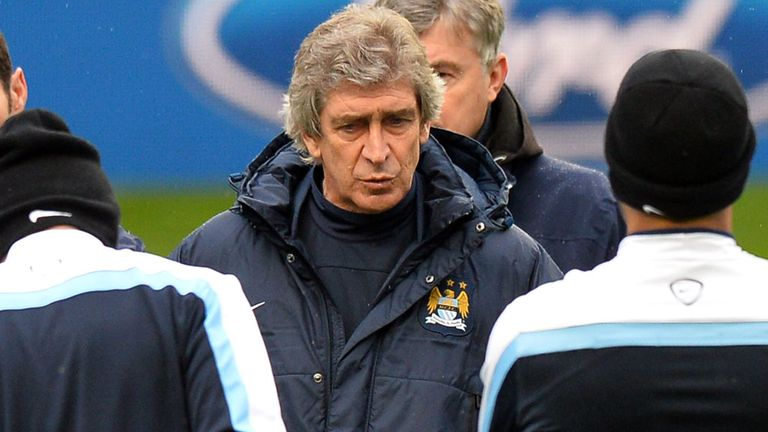 Manuel Pellegrini: Unfazed by the arrival of Barcelona at the Etihad Stadium