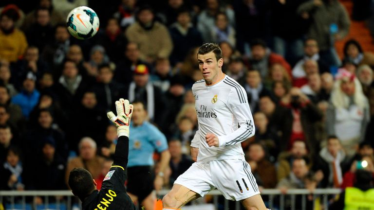 Gareth Bale nets Real Madrid's opening goal