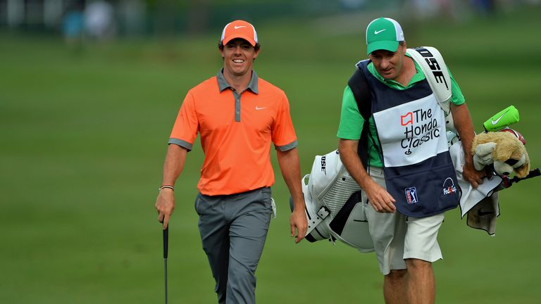Rory McIlroy: All smiles during his opening seven-under 63