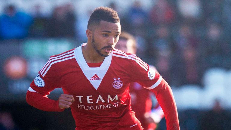 Shaleum Logan: May extend his loan at Aberdeen