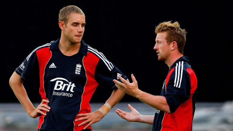 Stuart Broad says Paul Collingwood brings a lot of energy to the England camp