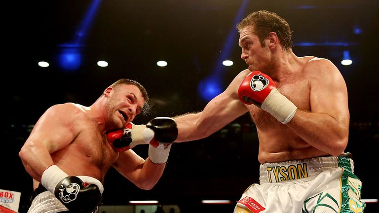 Tyson Fury: Eyeing improvement in the coming months