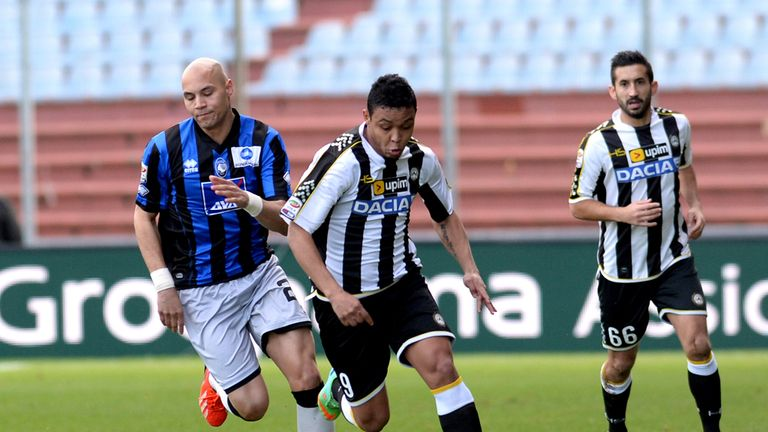 Luis Muriel: Udinese striker's future appears uncertain