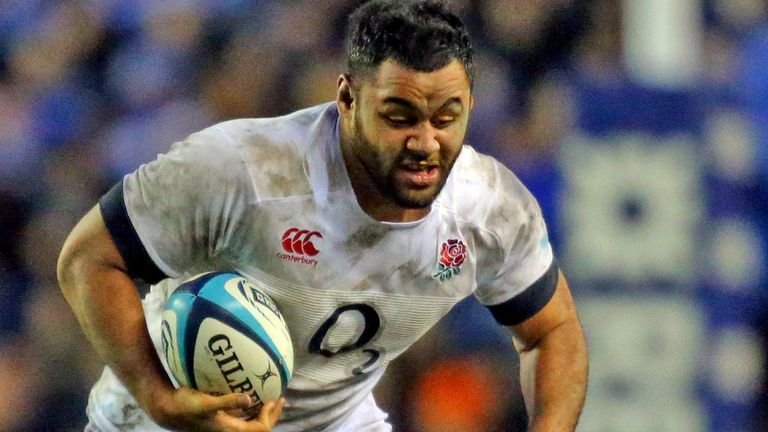 Billy Vunipola: England number eight will have a scan on his ankle injury