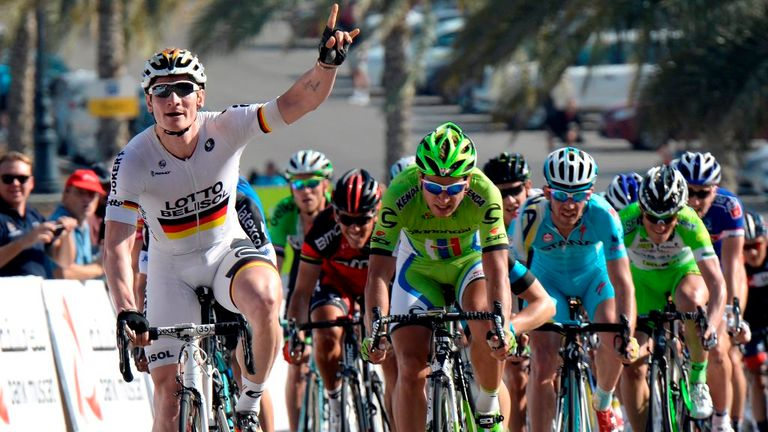 Andre Greipel picked up his fifth win of the season