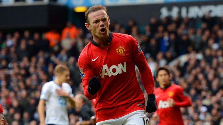 Wayne Rooney: Says he is happy with the direction United are going in