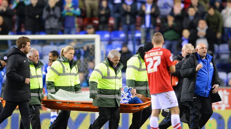Ben Watson: Faces long spell on the sidelines after breaking leg against Barnsley