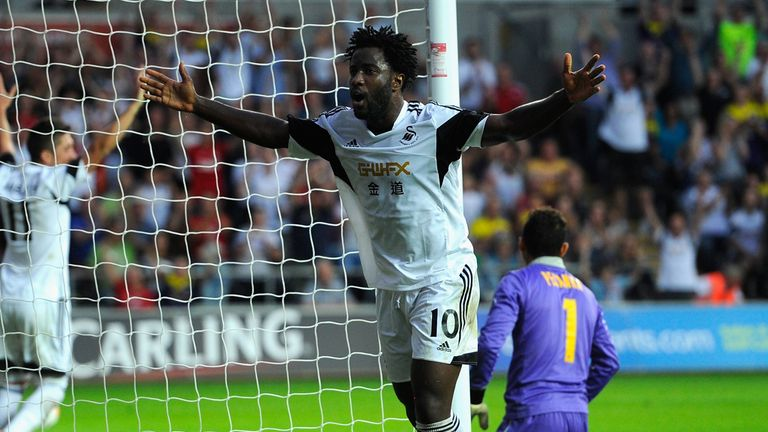 Wilfried Bony: Has enjoyed a productive first season at the Liberty Stadium
