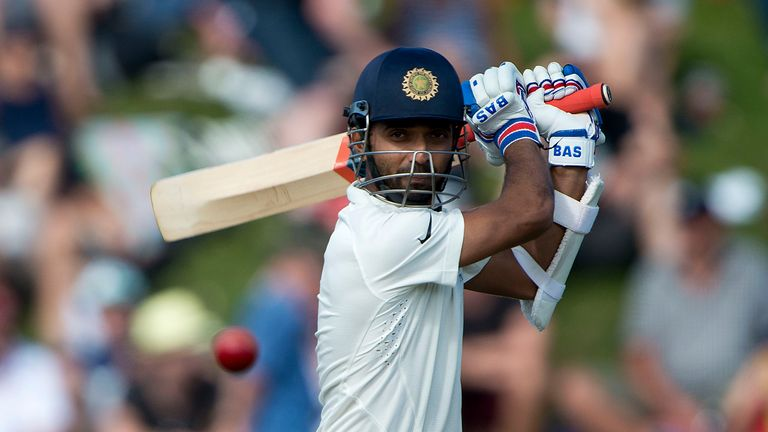 Ajinkya Rahane: Made his first Test century for India from 149 deliveries