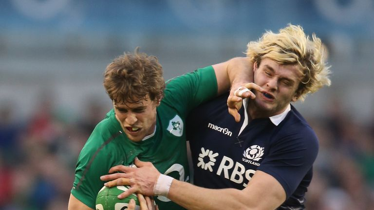 Richie Gray (r): Has been criticised for his defensive work