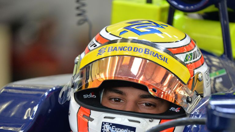 Felipe Nasr has joined Williams as Test and Reserve Driver