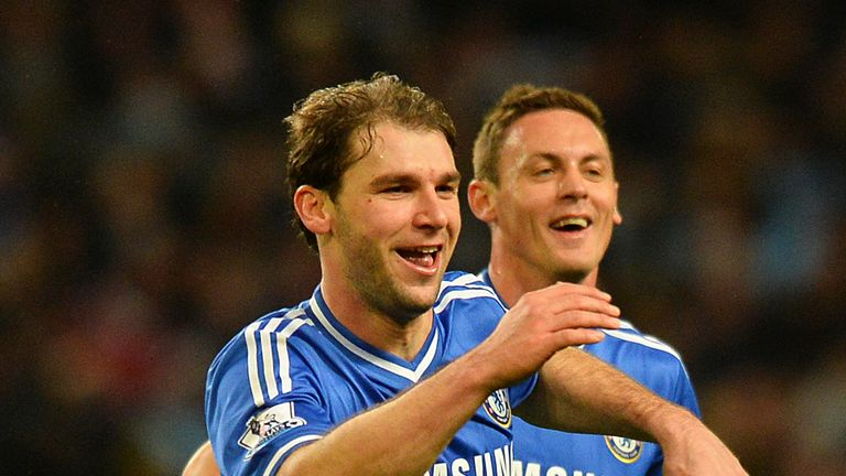 Branislav Ivanovic: Chelsea defender happy at Stamford Bridge