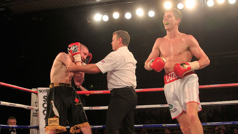 Luke Campbell: Finished off Scott Moises in the final round (Pic Lawrence Lustig)