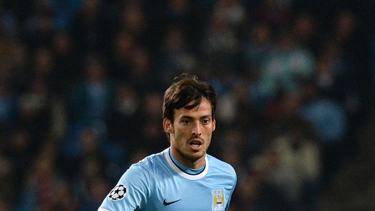 David Silva: City host Barcelona on Tuesday night