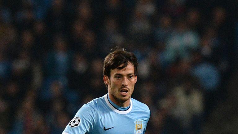 David Silva: City host Barcelona on Tuesday night