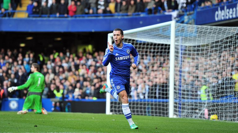 Eden Hazard: Thanked Frank Lampard for giving up penalty