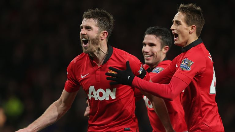 Michael Carrick: The United midfielder said he his side have a real chance of beating Bayern and reaching the semi-finals