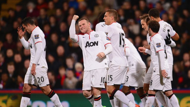 Wayne Rooney: Netted fine goal as Manchester United saw off Crystal Palace 2-0