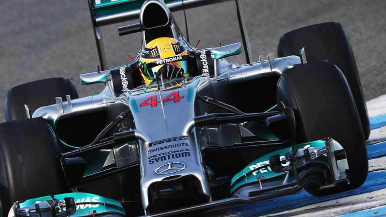 Lewis Hamilton: Back behind the wheel on Wednesday