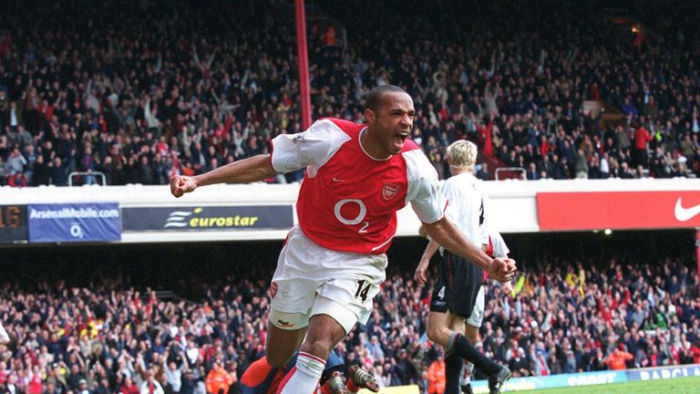 Thierry Henry scored eight Premier League hat-tricks for Arsenal, which got in our list...?