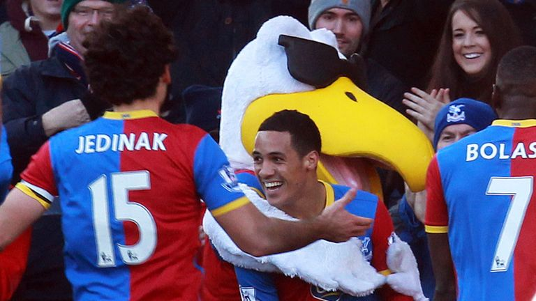 Tom Ince: Opened the scoring for Palace in the 15th minute