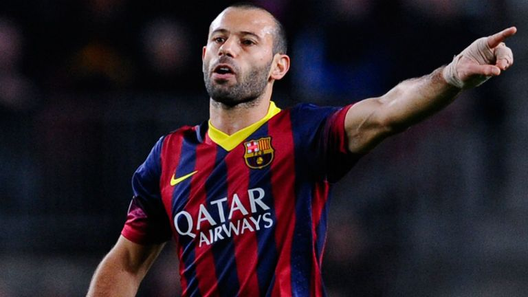 Javier Mascherano: Linked with a move away from Barcelona