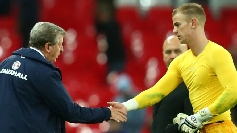 Roy Hodgson: England boss has confidence in the ability of Joe Hart