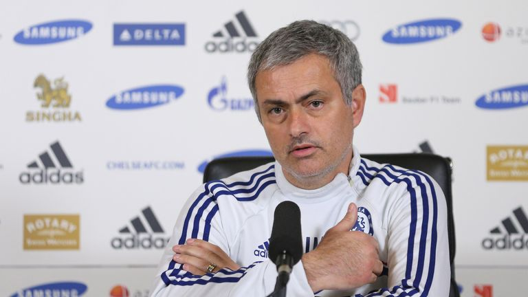 Mourinho: Speaking to the media on Monday