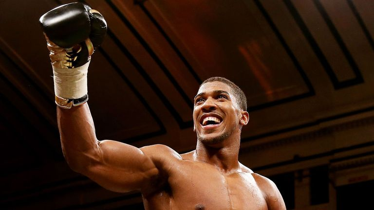 Anthony Joshua: Insists he still has much to learn