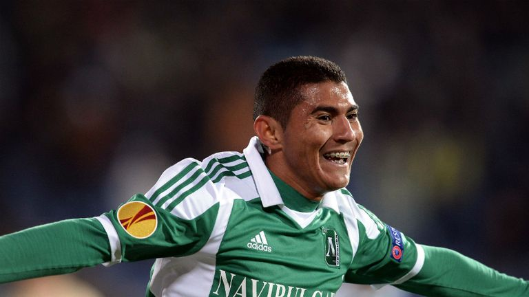 Juninho Quixada: Scored a late winner as Ludogorets progressed at the expense of Lazio
