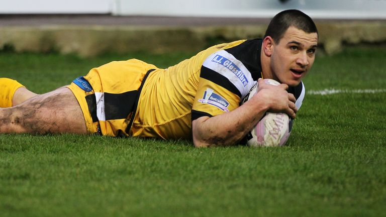 Justin Carney: Added three tries to his 2014 tally