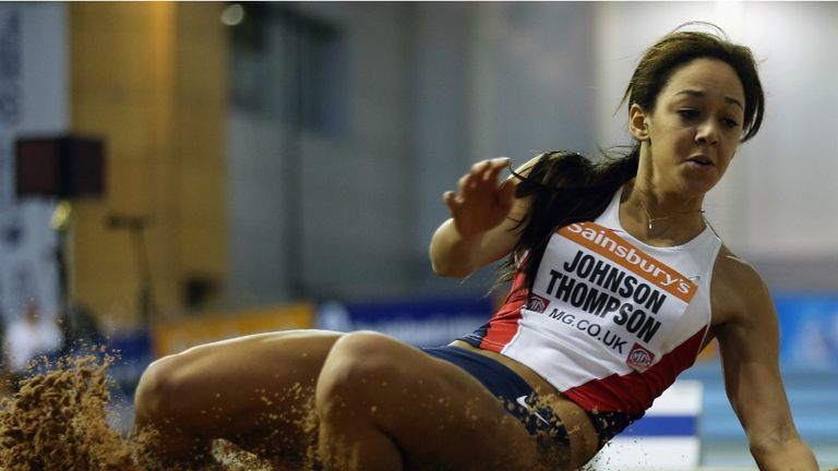 Katarina Johnson Thompson: Enjoyed a double record-breaking weekend in Sheffield