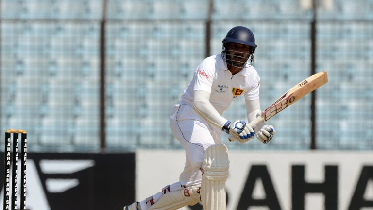Kumar Sangakkara: Sri Lanka batsman made 424 runs during second Test against Bangladesh