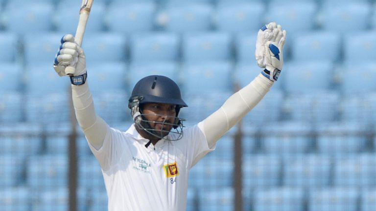 Kumar Sangakkara: Sri Lanka batsman become Test cricket's 23rd triple centurion