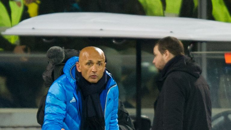 Luciano Spalletti: Sacked by Zenit