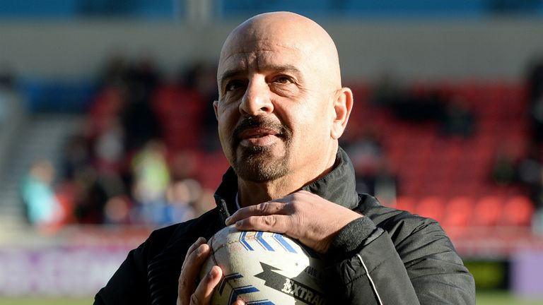 Marwan Koukash: Salford Red Devils owner reveals wife is fronting bid to buy Bradford