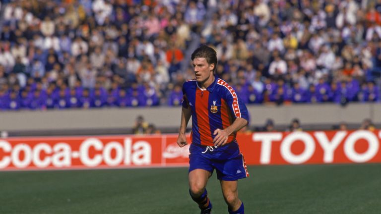 Michael Laudrup: Former Denmark international played for both Barcelona and Real Madrid