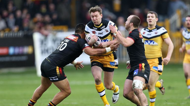 Michael Shenton: inspirational display for Castleford