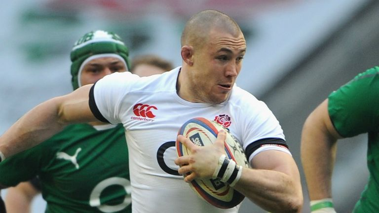 Mike Brown: Not angry, but competitive claims the England full-back