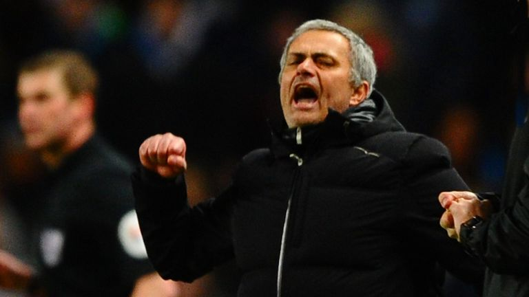 It's fair to say Jose Mourinho revelled in being the centre of attention on Monday night