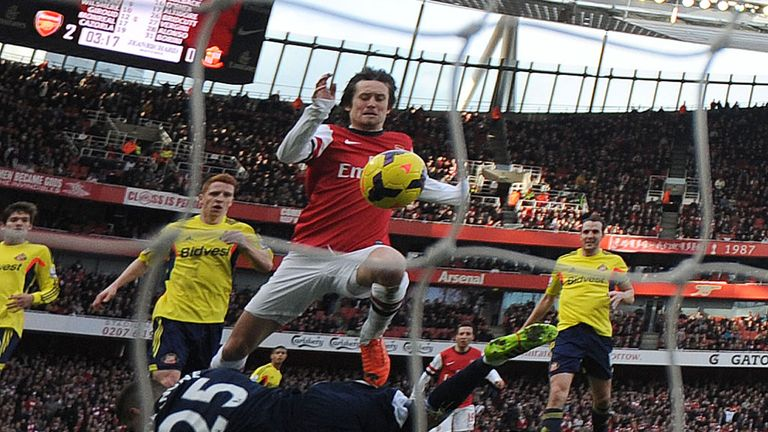 Tomas Rosicky: Scored a great goal for Arsenal against Sunderland