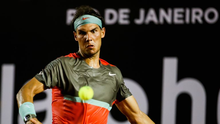 Rafael Nadal: Registered victory No 670 of an impressive career
